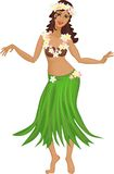 Hula dancer Royalty Free Stock Photo