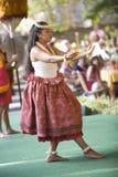 hula del danzatore Immagine Stock