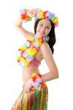 hula della ragazza Fotografie Stock