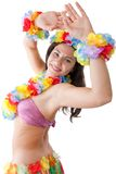 Hula girl Stock Photography