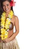Hula Girl Royalty Free Stock Photos