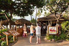 Hula Grill. Maui, HI: October 22, 2016: Hula Grill on the island of Maui in the state of Hawaii. Hula Grill is owned by TS Restaurants, which owns/manages Stock Photos