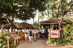 Hula Grill. Maui, HI: October 22, 2016: Hula Grill on the island of Maui in the state of Hawaii. Hula Grill is owned by TS Restaurants, which owns/manages Stock Image