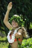 Hula hawaiano Imágenes de archivo libres de regalías