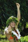 Hula hawaiano Fotos de archivo