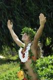 Hula hawaiano Imagen de archivo libre de regalías