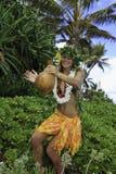 Hula hawaiano Fotos de archivo libres de regalías