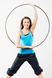 Hula-Hoop Royalty Free Stock Photo