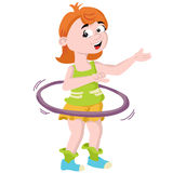 Hula hoop Stock Photography