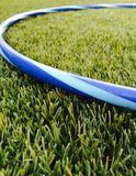 Hula hoop on grass Stock Images