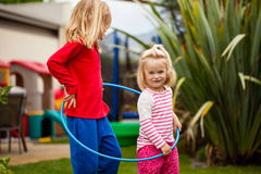 Hula hoop Royalty Free Stock Photos