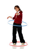 Hula Hooper Royalty Free Stock Photos