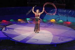 Hula hoops Royalty Free Stock Image