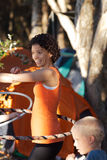 Hula Hoops Stock Photo