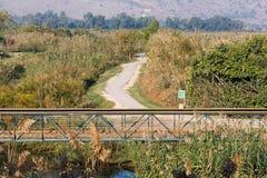 Hula Nature Reserve Stock Photo