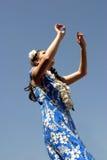 Hula Tanz lizenzfreies stockbild