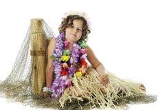 Hula TARGET108_0_ Dziewczyna Obraz Royalty Free