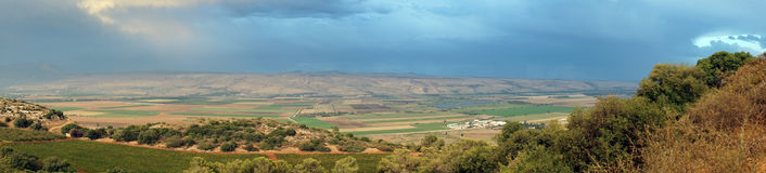 Hula valley Royalty Free Stock Images