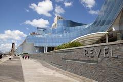 Hulania kasyno w Atlantyckim mieście Obraz Royalty Free