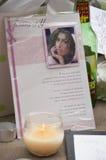 Hulde aan Amy Winehouse Royalty-vrije Stock Fotografie