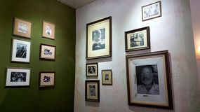 Hulde aan Hemingway Havana Cuba Stock Foto's