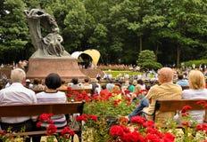 Hulde aan het open overleg van Chopin, Warshau Royalty-vrije Stock Afbeelding