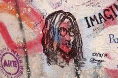 Hulde aan John Lennon stock fotografie