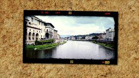 Hulde aan prachtig Toscanië, collage stock footage