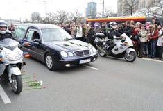 Hulde aan slachtoffers van de vliegtuigneerstorting Royalty-vrije Stock Foto's