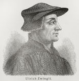 Huldrych Zwingli Royalty Free Stock Images
