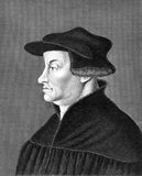 Huldrych Zwingli Stock Photography