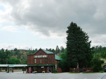 The Hulett Motel, Hulett, Wyoming Royalty Free Stock Photography