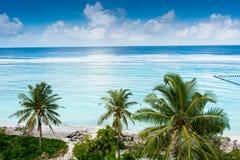 Hulhumale- de Maldiven Stock Foto's