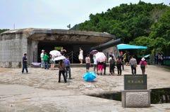 The Huli Mountain Fortress at Xiamen Royalty Free Stock Image