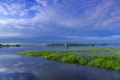 Hulin City, Heilongjiang Province Ussuri scenery Royalty Free Stock Image