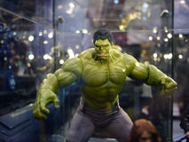 Hulk in The Avengers: Age of Ultron. 1:6 scale Hulk Figure in TOY SOUL 2014 in Hong Kong Stock Photos