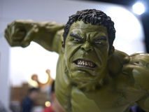Hulk in The Avengers: Age of Ultron. 1:4 scale Hulk Figure in TOY SOUL 2015 in Hong Kong Stock Photos