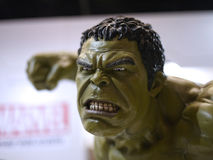 Hulk in The Avengers: Age of Ultron. 1:4 scale Hulk Figure in TOY SOUL 2015 in Hong Kong Stock Photography
