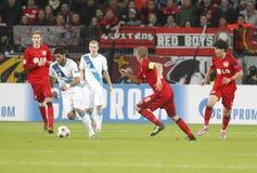 Hulk Bayer 04 Leverkusen v Zénith Saint-Pétersbourg Champion League Royalty Free Stock Photos