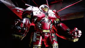 Hulk Buster Iron Man costume Stock Image