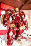 Hulk Buster Iron Man costume at The Madame Tussauds museum Stock Photography