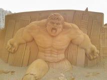 Hulk för Disney sandmagi royaltyfria bilder
