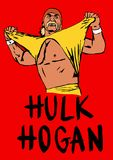 Hulk Hogan Foto de Stock Royalty Free
