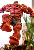 The Hulk model in Thailand Comic Con 2014. Stock Photos