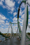 Hulk Roller Coaster Islands of Adventure Orlando Royalty Free Stock Images
