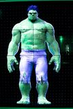 Hulk on the screen. LAS VEGAS, NV, USA - OCT 10, 2017: Hulk on the screen at the Avengers Station complex in Las Vegas stock photos