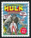 Hulk. UNITED STATES - CIRCA 2007: stamp printed by United states, shows Hulk, circa 2007 stock image