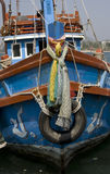 Hull of fishing boats Royalty Free Stock Photos