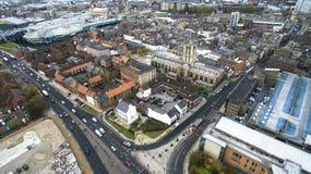 Hull a igreja, igreja de trindade, Market Place, Kingston Upon Hull imagem de stock