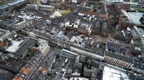 Hull a igreja, igreja de trindade, Market Place, Kingston Upon Hull fotos de stock